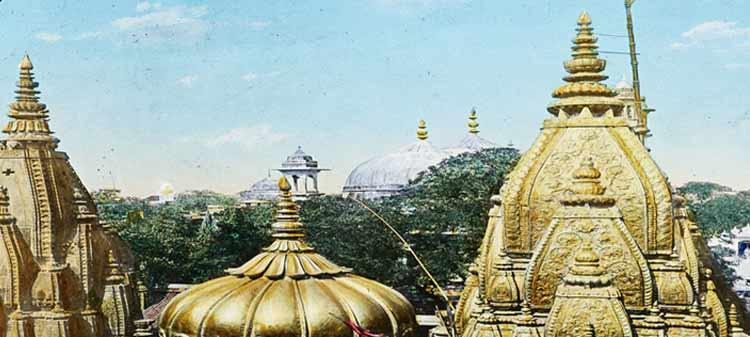 Behind Kashi Vishwanath Temple